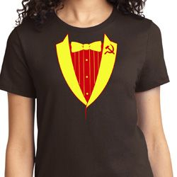 CCCP Basic Tuxedo Ladies Shirts