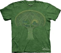 Celtic Roots Tree Shirt Tie Dye T-shirt Adult Tee