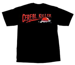 Cereal Killer Funny Adult Humor T-shirt