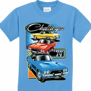 Challenger Trio Kids Dodge Shirts