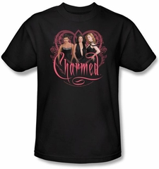Charmed Kids Shirt Charmed Girls Youth Black T-shirt