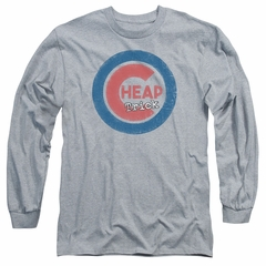Cheap Trick Long Sleeve Shirt Cub 3 Athletic Heather Tee T-Shirt