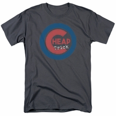 Cheap Trick Shirt Cub Charcoal T-Shirt