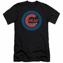 Cheap Trick Slim Fit Shirt Cub 4 Black T-Shirt