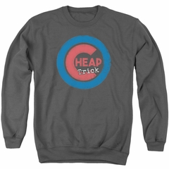 Cheap Trick Sweatshirt Cub Adult Charcoal Sweat Shirt