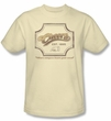 Cheers Cream Color Shirt - Sign Adult Tee Shirt