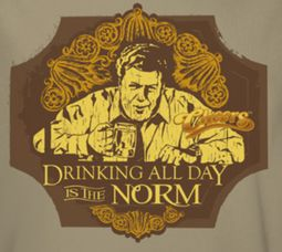 Cheers Drinking Norm Shirts