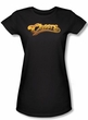 Cheers Juniors Shirt Cheers Logo Black T-Shirt