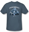 Cheers Kids T-shirt - Cliff Fountain of Knowledge Slate Blue Tee