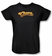 Cheers Logo Ladies T-shirt - Black