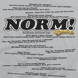 Cheers Norminisms Shirts