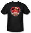 Cheers Woody Adult T-shirt - Black