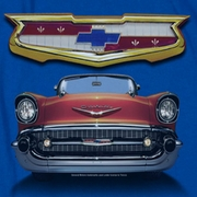 Chevy 1957 Bel Air Grille T-shirts