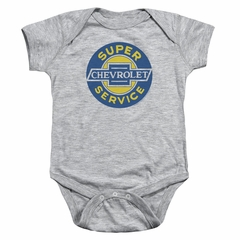 Chevy Baby Romper Super Service Athletic Heather Infant Babies Creeper