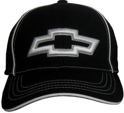 Chevy Bowtie 3D Hat - Fitted Flexfit Fine Embroidered Cap