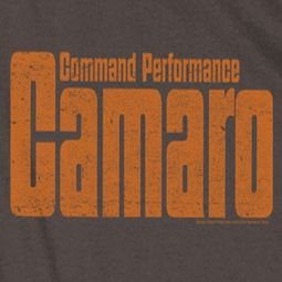 Chevy Camaro Command Performance T-shirts