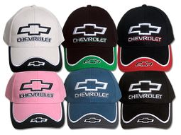 Chevy Chevrolet Hat - Fine Embroidered Contrasting Cap