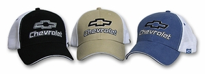 Chevy Chevrolet Hat - Fine Embroidered Mesh Back Cap
