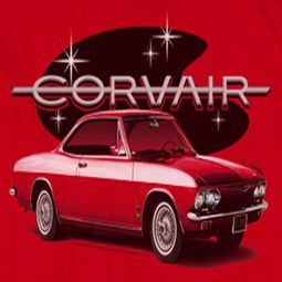 Chevy Corvair Spyda Coupe Shirts