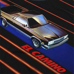 Chevy El Camino Sublimation Shirts