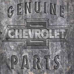 Chevy Genuine Parts Metal Bowtie Sublimation T-shirts