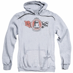 Chevy Hoodie Gentlemen's Racer Sports Grey Sweatshirt Hoody