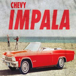 Chevy Impala Sublimation Shirts
