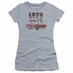 Chevy Juniors Shirt Car Of The Year Sports Grey T-Shirt