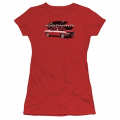 Chevy Juniors Shirt Corvair Spyda Coupe Red T-Shirt