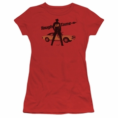 Chevy Juniors Shirt Tough To Tame Red T-Shirt