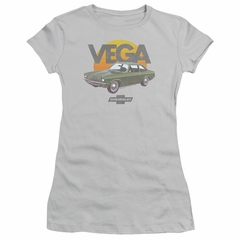 Chevy Juniors Shirt Vega Sunshine Silver T-Shirt