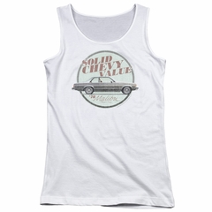 Chevy Juniors Tank Top Value White Tanktop