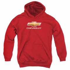 Chevy Kids Hoodie Bow Tie Red Youth Hoody
