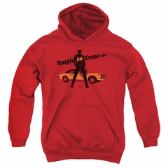 Chevy Kids Hoodie Tough To Tame Red Youth Hoody