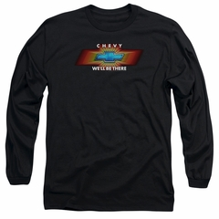 Chevy Long Sleeve Shirt We'll Be There TV Spot Black Tee T-Shirt