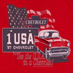 Chevy See The USA Chevrolet T-shirts