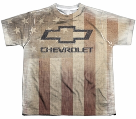 Chevy Shirt American Pride Sublimation Youth Shirt
