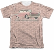 Chevy Shirt Bel Air Sweet Smooth And Sassy Poly/Cotton Sublimation Shirt Front/Back Print