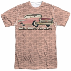 Chevy Shirt Bel Air Sweet Smooth And Sassy Sublimation Shirt