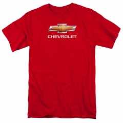 Chevy Shirt Bow Tie Red T-Shirt