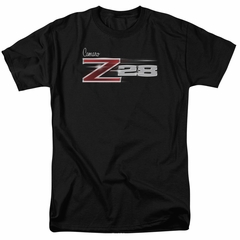 Chevy Shirt Camaro Z28 Logo Black T-Shirt