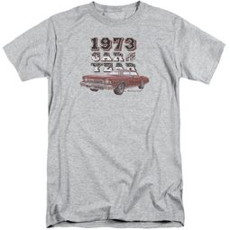 Chevy Shirt Car Of The Year Sports Grey Tall T-Shirt