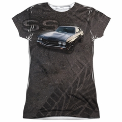 Chevy Shirt Chevelle SS Sublimation Juniors Shirt