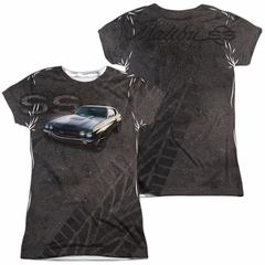 Chevy Shirt Chevelle SS Sublimation Juniors Shirt Front/Back Print