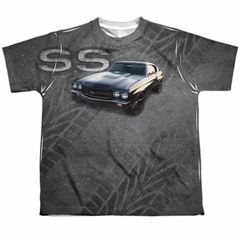 Chevy Shirt Chevelle SS Sublimation Youth Shirt