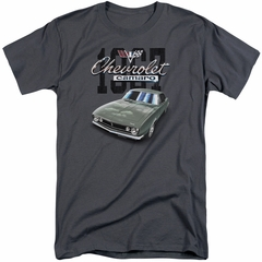 Chevy Shirt Chevrolet 1967 Classic Camaro Tall Charcoal T-Shirt