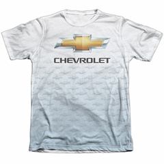 Chevy Shirt Chevrolet Logo 2 Poly/Cotton Sublimation Shirt Front/Back Print