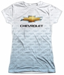 Chevy Shirt Chevrolet Logo 2 Sublimation Juniors Shirt Front/Back Print