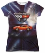 Chevy Shirt Corvette Lines Of Light Sublimation Juniors Shirt Front/Back Print