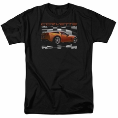 Chevy Shirt ZO6 checkered Black T-Shirt